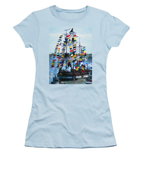 Jose Gasparilla Ship Work B Women's T-Shirt (Athletic Fit)