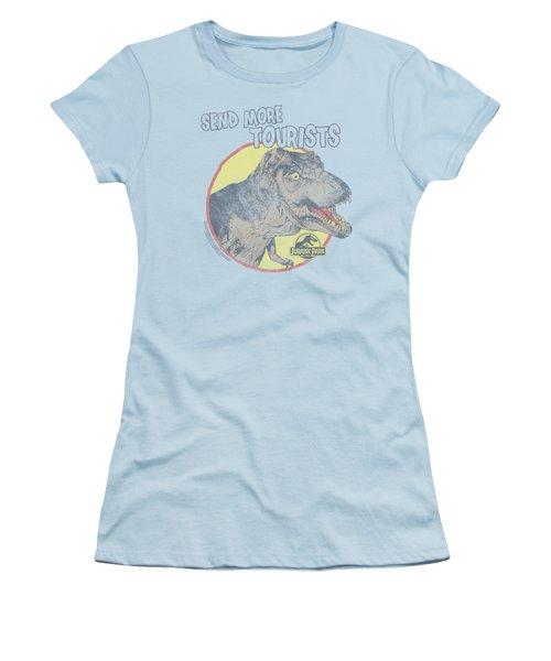 Jurassic Park - More Tourist Women's T-Shirt (Athletic Fit)
