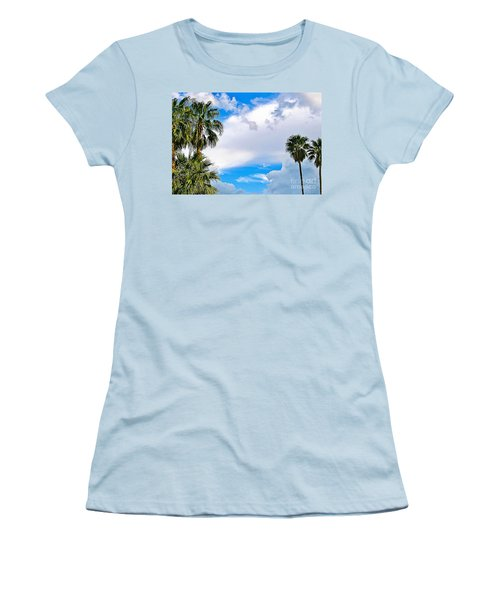 Just Mingling Women's T-Shirt (Junior Cut) by Angela J Wright