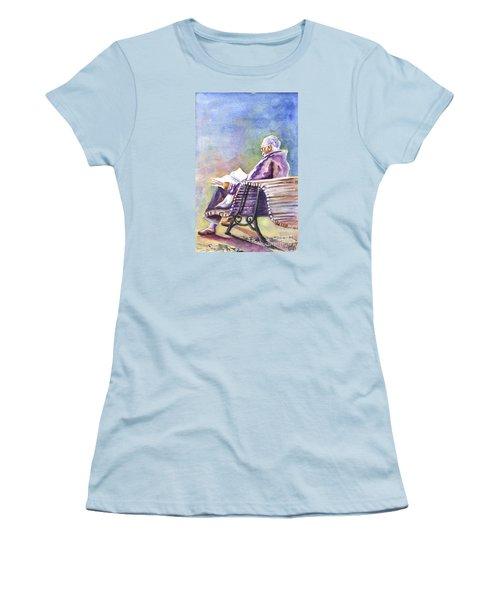 Just Passing The Time Away Women's T-Shirt (Junior Cut) by Carol Wisniewski