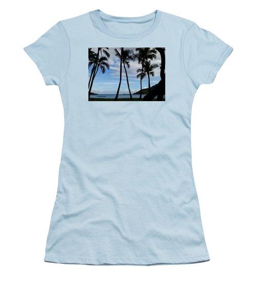 Kalapaki Beach Kauai Women's T-Shirt (Athletic Fit)