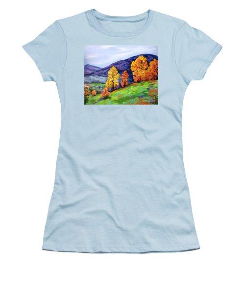 Kentucky Hillside Women's T-Shirt (Athletic Fit)