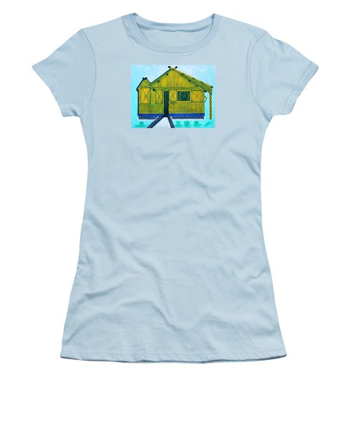 Kiddie House Women's T-Shirt (Junior Cut) by Lorna Maza