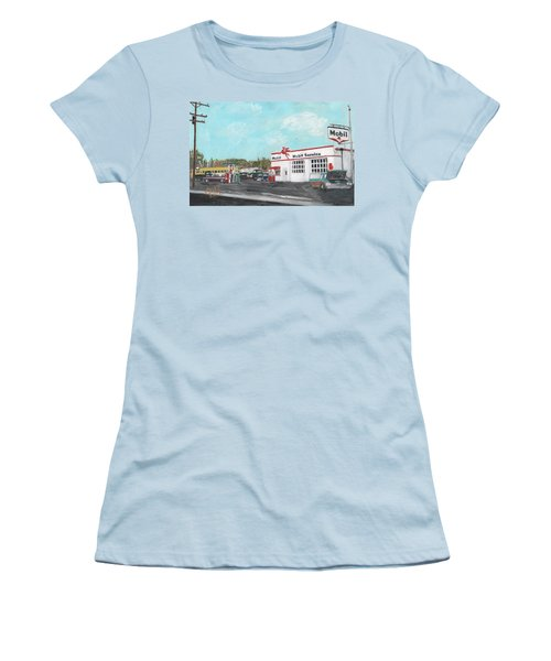 Koki's Garage Women's T-Shirt (Athletic Fit)