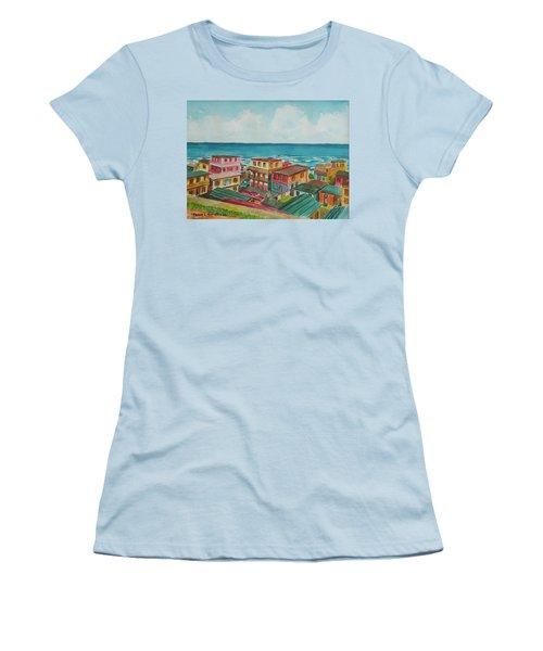 La Perla San Juan Pr Women's T-Shirt (Athletic Fit)