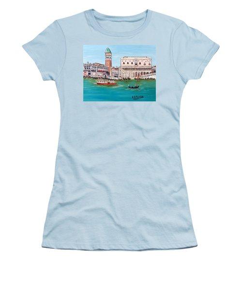 Laguna Women's T-Shirt (Junior Cut) by Loredana Messina