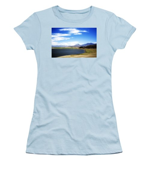 Lake Isabella Women's T-Shirt (Athletic Fit)