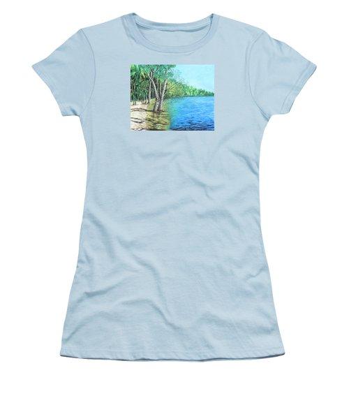 Lakeland 2 Women's T-Shirt (Junior Cut) by Jeanne Fischer