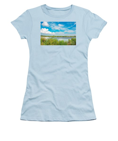 Lauwersmeer National Park. Women's T-Shirt (Athletic Fit)
