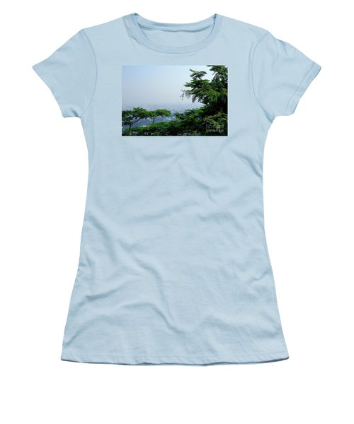Layers Of Tree Women's T-Shirt (Athletic Fit)