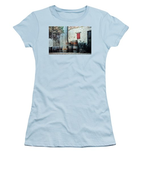 Women's T-Shirt (Junior Cut) featuring the photograph Lazy Afternoon At The Winery by Diane Alexander