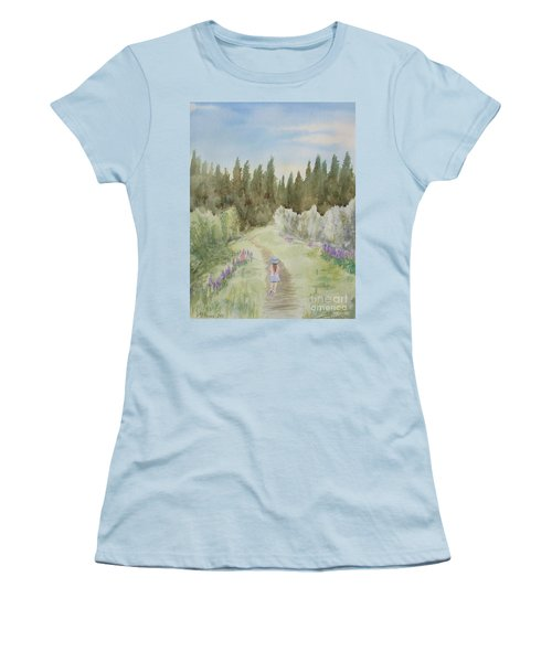 Leading The Way Women's T-Shirt (Athletic Fit)