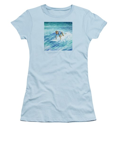 Learning To Fly Women's T-Shirt (Junior Cut) by William Love