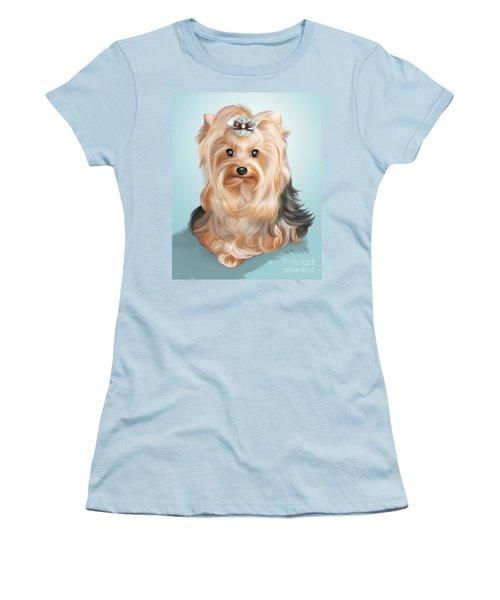 Leetl Luloo Zazu  Women's T-Shirt (Junior Cut) by Catia Cho
