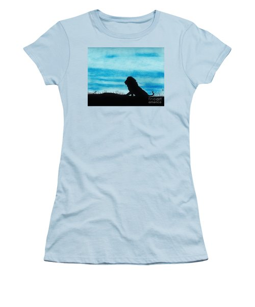 Leo At Sunset Women's T-Shirt (Athletic Fit)