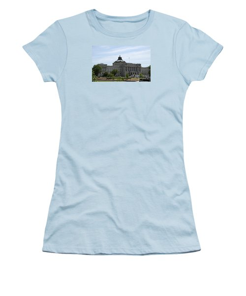 Library Of Congress  Women's T-Shirt (Junior Cut) by Christiane Schulze Art And Photography