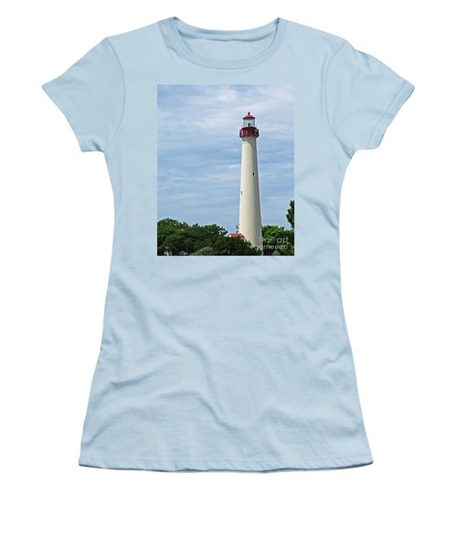 Light House At Cape May Nj Women's T-Shirt (Athletic Fit)