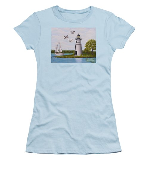 Light  In Madisonville Women's T-Shirt (Athletic Fit)