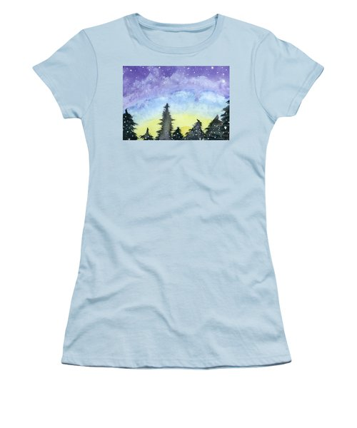 Lights Of Life Women's T-Shirt (Athletic Fit)