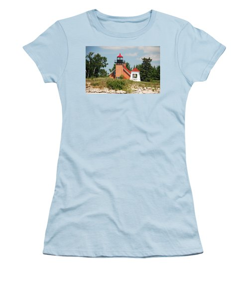 Little Traverse Lighthouse No.2 Women's T-Shirt (Athletic Fit)