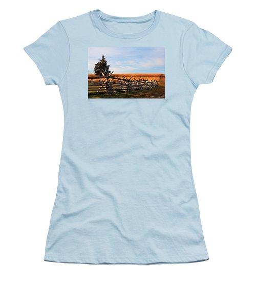 Long Shadows Women's T-Shirt (Athletic Fit)
