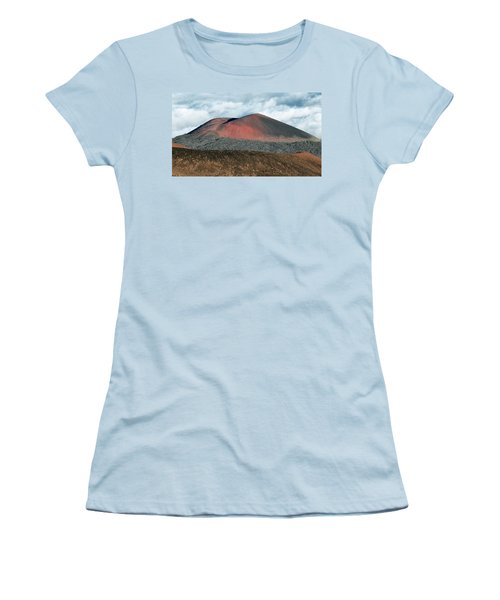 Women's T-Shirt (Junior Cut) featuring the photograph Looking Down by Jim Thompson