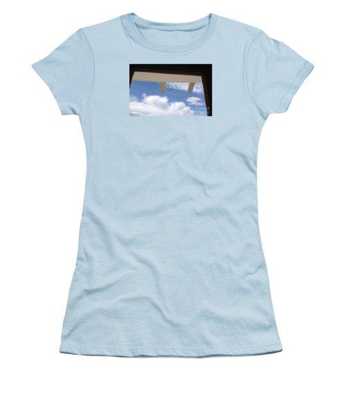 Lookout Women's T-Shirt (Junior Cut) by Nora Boghossian