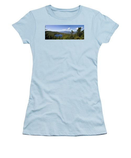 Loon Mountain Women's T-Shirt (Athletic Fit)