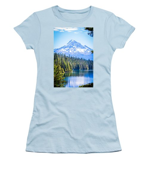 Lost Lake Morning Women's T-Shirt (Athletic Fit)