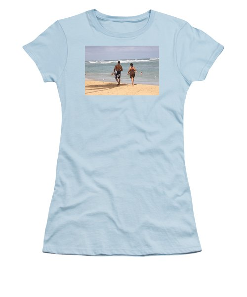 Love Stroll Women's T-Shirt (Athletic Fit)