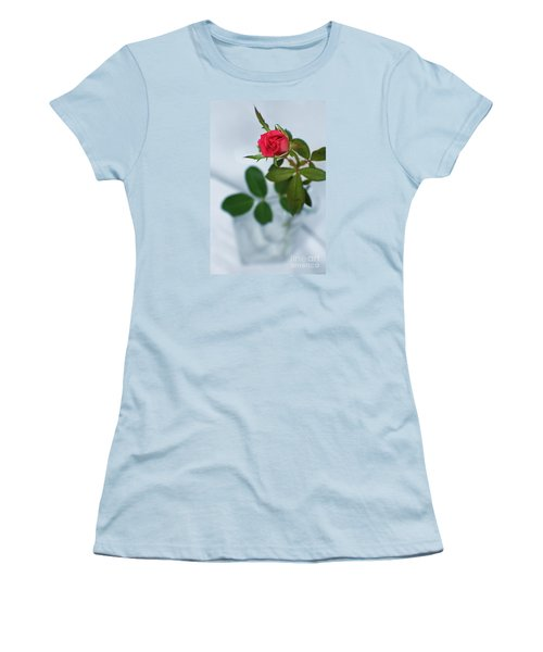 Women's T-Shirt (Junior Cut) featuring the photograph Love Whispers Softly by Ella Kaye Dickey