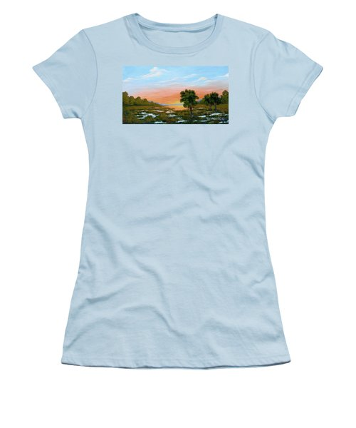 Lowcountry Sunrise Women's T-Shirt (Athletic Fit)