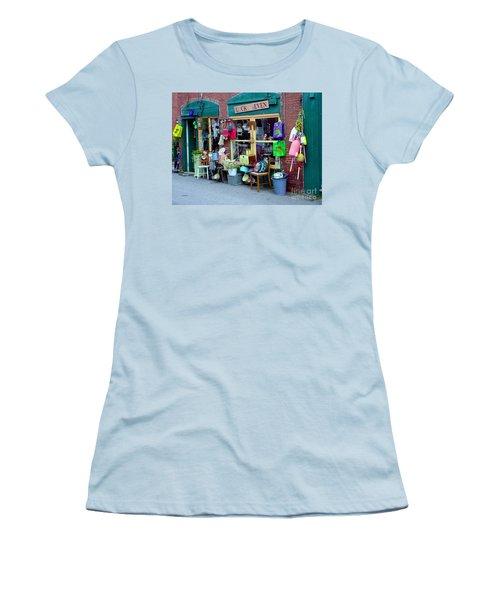 Lucky Seven Women's T-Shirt (Junior Cut) by Kevin Fortier