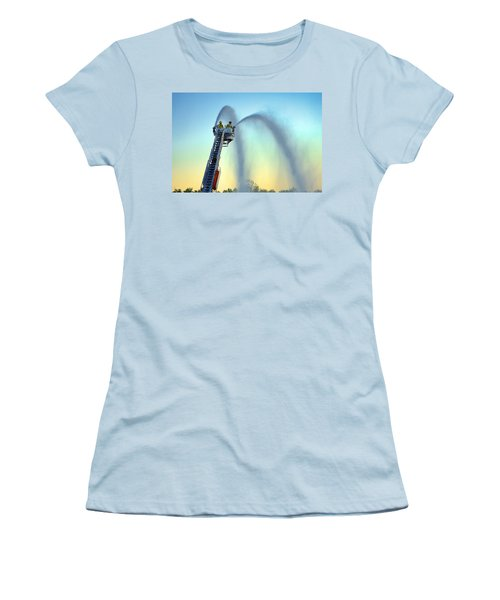 Mainstream At Sunset Women's T-Shirt (Athletic Fit)