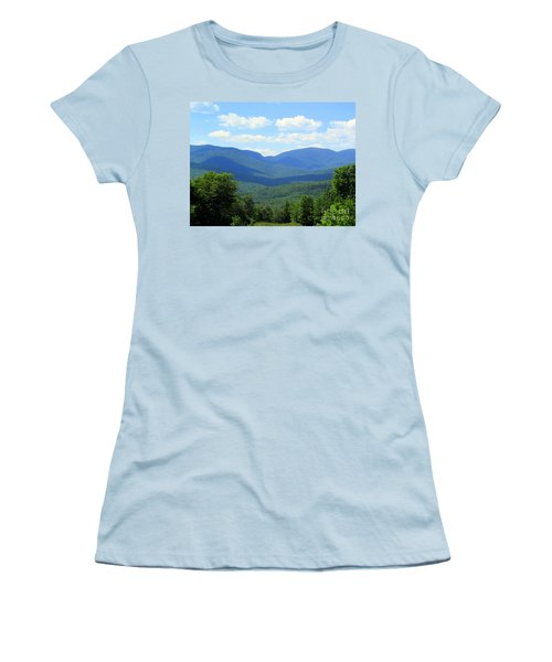 Majestic Mountains Women's T-Shirt (Athletic Fit)