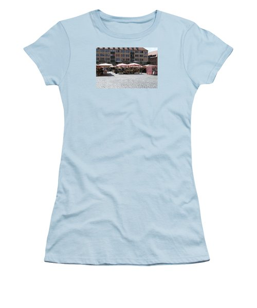 Markt Platz Women's T-Shirt (Junior Cut) by Heidi Poulin