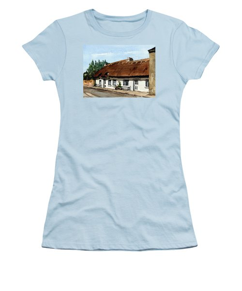 F 709 Mcdonaghs Pub  Oranmore Galway Women's T-Shirt (Athletic Fit)