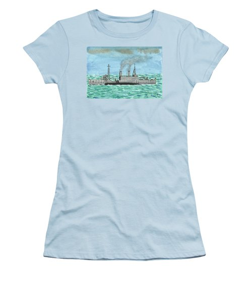 Meeting For Supplies  Women's T-Shirt (Junior Cut) by John Williams
