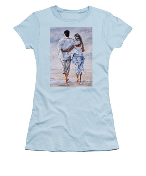 Memories Of Love Women's T-Shirt (Athletic Fit)