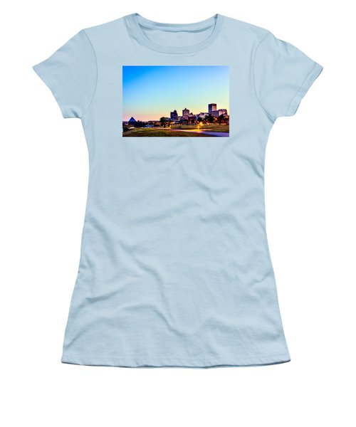 Memphis Morning - Bluff City - Tennessee Women's T-Shirt (Athletic Fit)