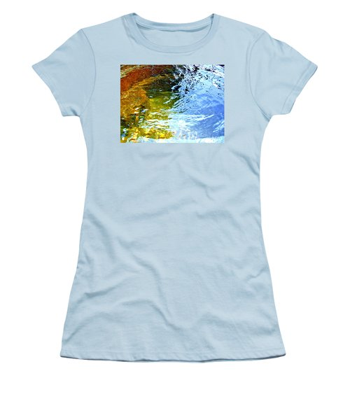 Mermaids Den Women's T-Shirt (Junior Cut) by Deborah Moen