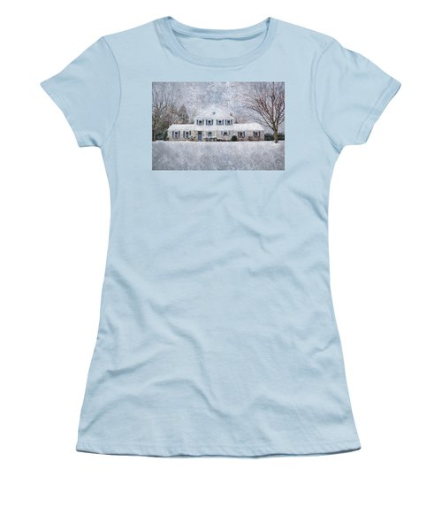 Wintry Holiday Women's T-Shirt (Athletic Fit)