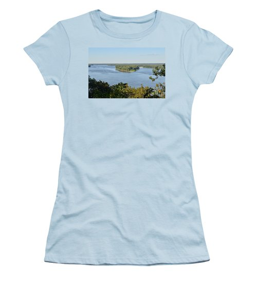 Mississippi River Overlook Women's T-Shirt (Athletic Fit)