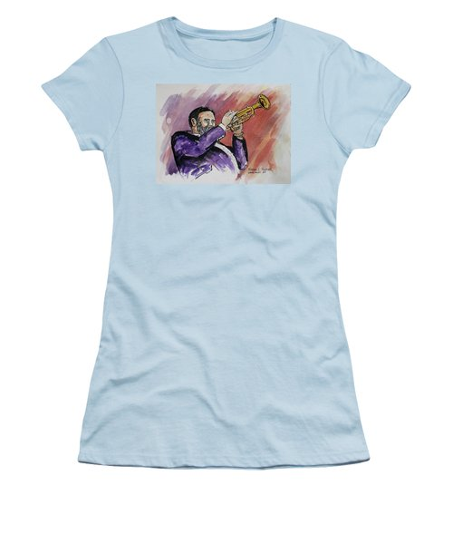Mister Too Many Notes Women's T-Shirt (Junior Cut) by Frank Hunter