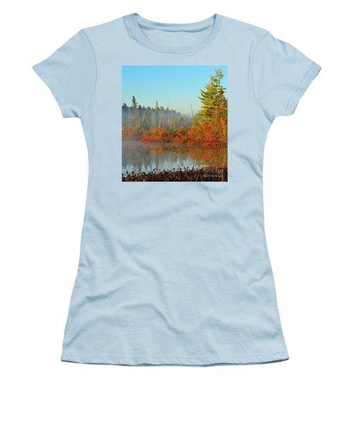 Misty Marsh Women's T-Shirt (Junior Cut) by Terri Gostola