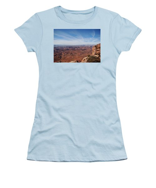Moab  Women's T-Shirt (Athletic Fit)