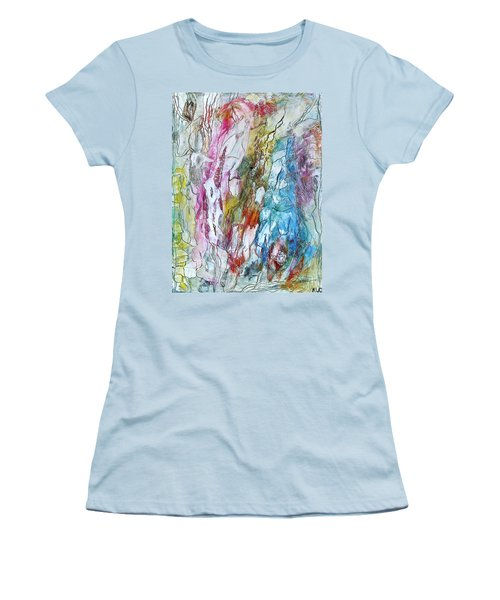 Monet's Garden Women's T-Shirt (Athletic Fit)