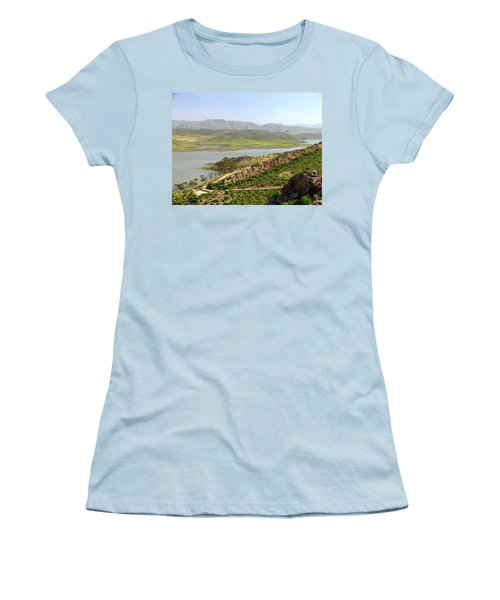 Moroccan Countryside 1 Women's T-Shirt (Athletic Fit)