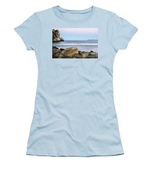 Morro Rock Morning Women's T-Shirt (Athletic Fit)