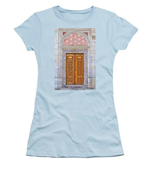 Mosque Doors 04 Women's T-Shirt (Athletic Fit)